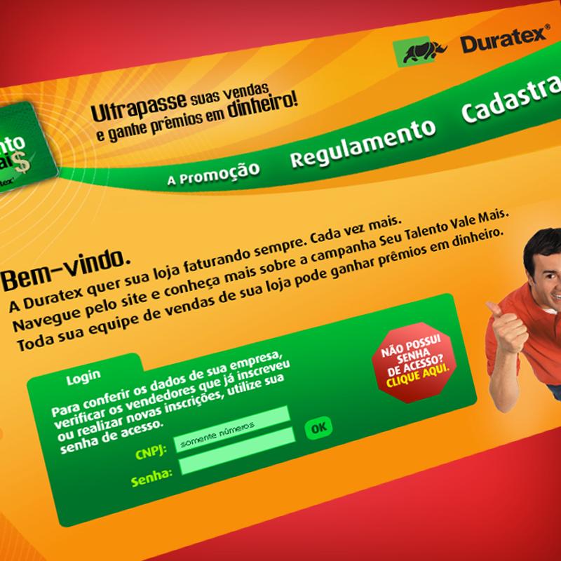 Duratex Talento Hotsite